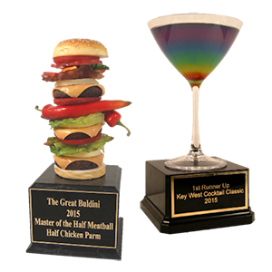 Custom Food & Drink Trophies