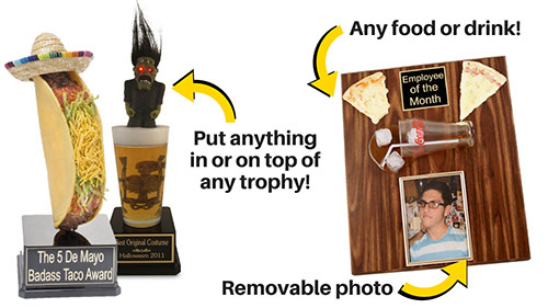 Food and Drink Trophies